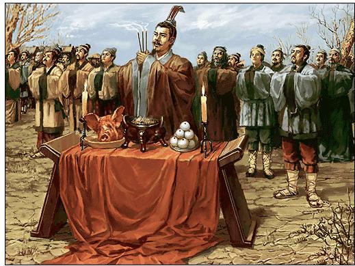 糾纏在一起的祭祀和祭禮