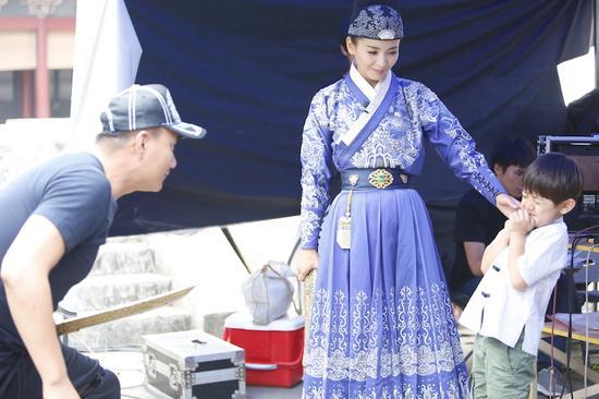 陸毅談演技替Angelababy打抱不平,貝嫂太瘦,小貝下令增肥,阿朱喬峰聚首《爸爸去哪兒》