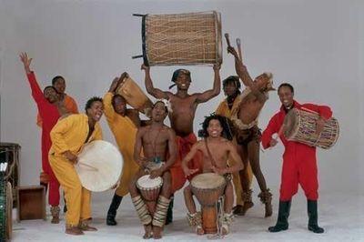 非洲音樂震懾人心