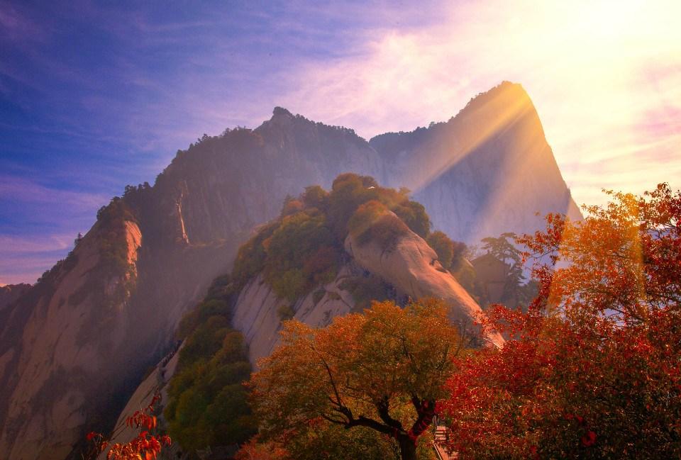 華山論劍看日出