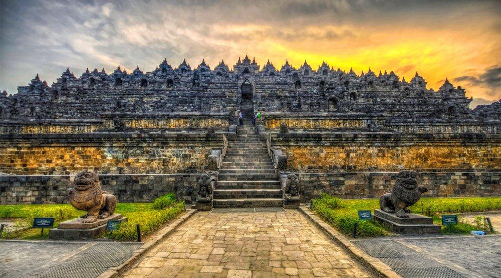 印尼日惹看婆娑