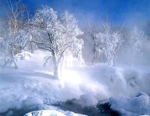 長白山尋雪