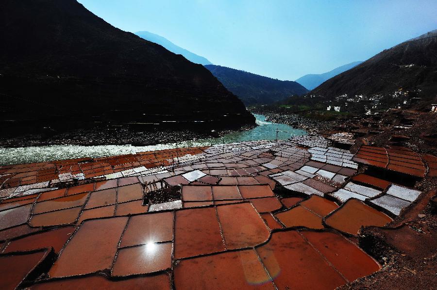 西藏鹽田好風光