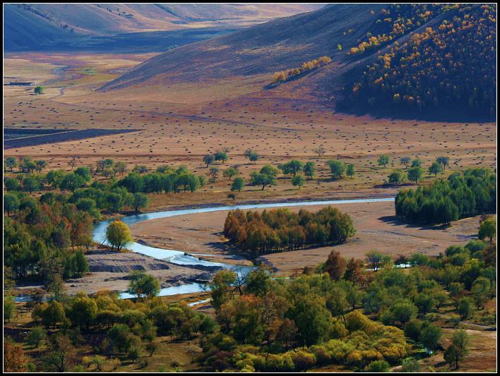 內蒙阿爾山看大好河山