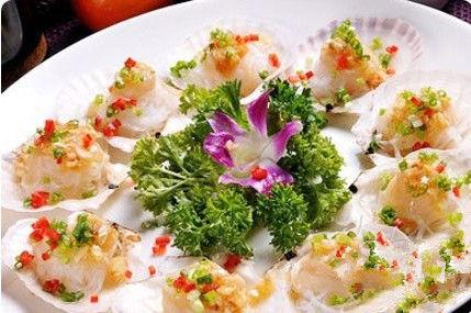 鮮海鮮吃扇貝