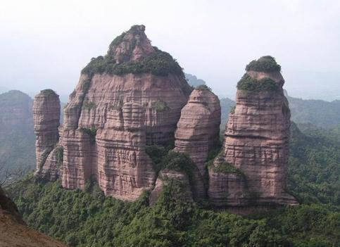 廣東韶關看地質奇觀
