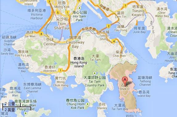 香港的隱市