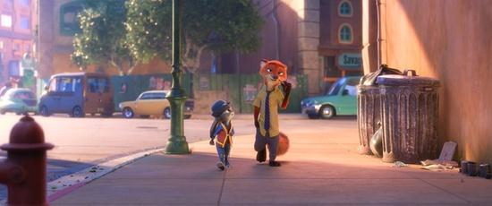 迪斯尼動畫《瘋狂動物城》