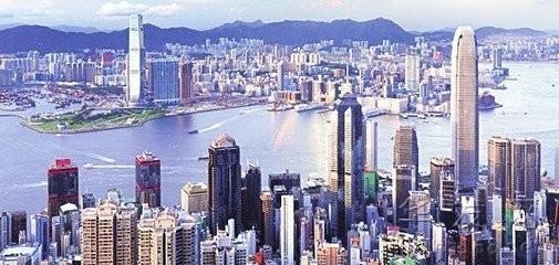 """""""一帶一路""""可以彌補香港發展動力不足"""