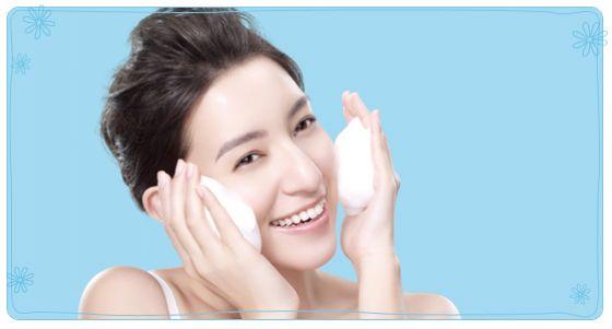 洗臉實用技巧