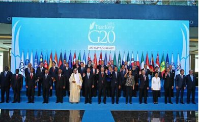 "G20峰會:""構建創新、活力、聯動、包容的世界經濟"""