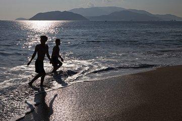 現在的芽莊海濱順應了休閑、健身、旅遊的潮流