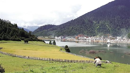 西藏林芝,東方瑞士