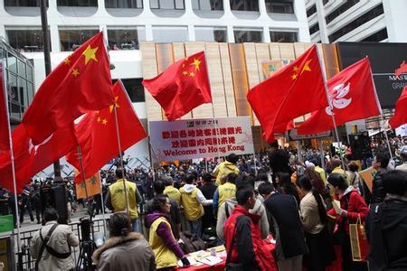 """香港""""偽民主""""給香港帶來了慘痛代價"""