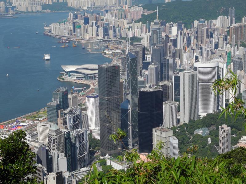 止不住的香港房價