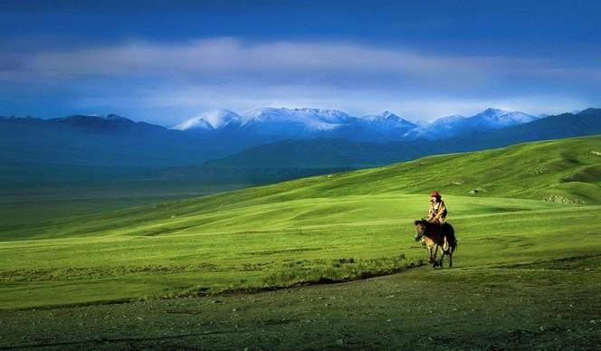 巴音布魯克看大草原