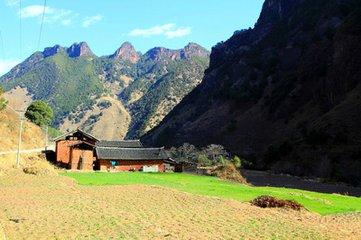 老君山的秋幾乎容納了四季的顏色