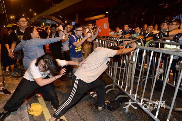 梁、游反對派遊行變暴力事件 本港人員強烈譴責