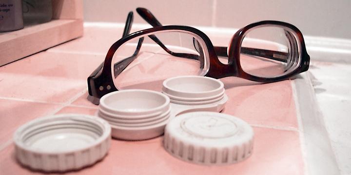 佩戴隱形眼鏡要注意這些
