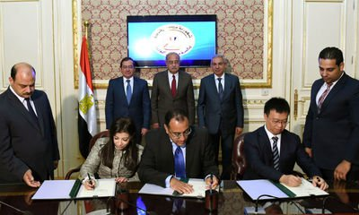 中企進入非洲區域,於埃及國家戰略區打造產業新城
