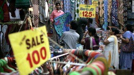 全球目前發展最快的兩個國家就是中國和印度