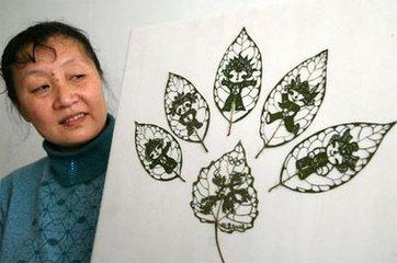 葉雕:博大精深的中國傳統文化與現代技術的完美結合