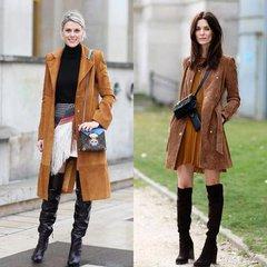 今冬十分時尚的元素:麂皮