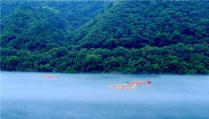 江南一帶遊客都有愛水的本性