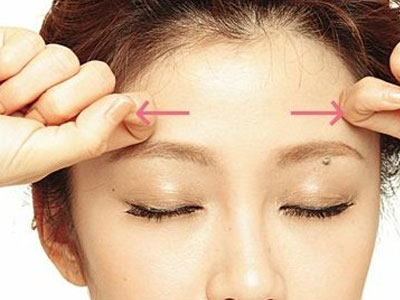 預防擡頭紋