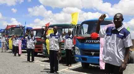近年來積極拓展海外市場的福田汽車,將非洲作為新的發展重點