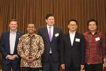 """中印尼不僅是好鄰居、好朋友,也是共建""""一帶一路""""的好夥伴"""