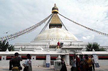 越過喜馬拉雅,來到漫天神佛的穀地,加德滿都就在腳下
