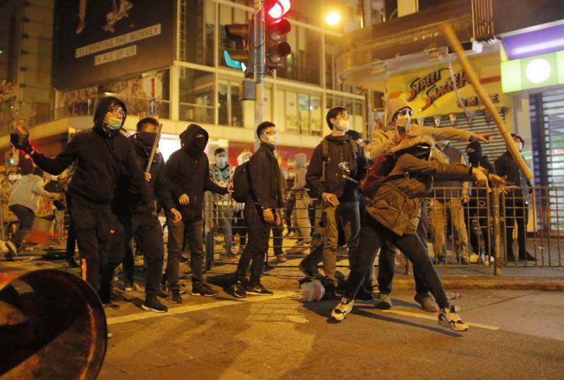 懲治暴亂及危害國家統一行爲  維護一國兩制