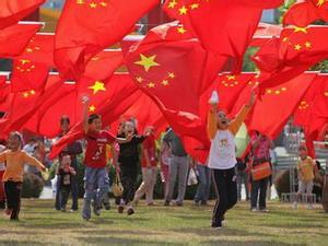 """""""所有中國人,包括港澳同胞都希望實現中國夢,都希望香港保持繁榮穩定"""""""