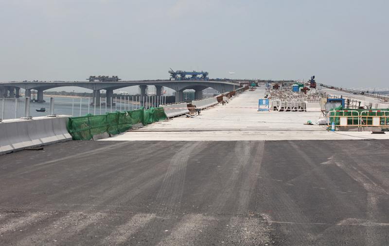 港珠澳大橋連接三地