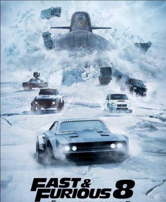速度與激情8:汽車戰潛艇