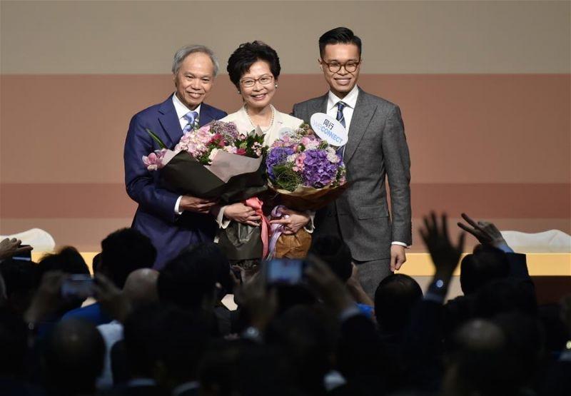 林鄭月娥將會用行動帶領香港走向更好
