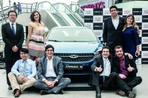 """在南非中国汽车制造商是新的""""明星"""""""