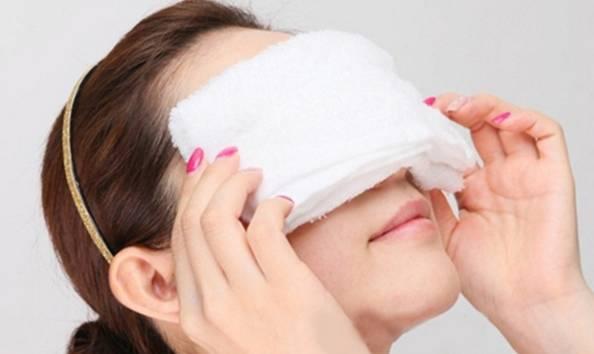 預防眼睛浮腫