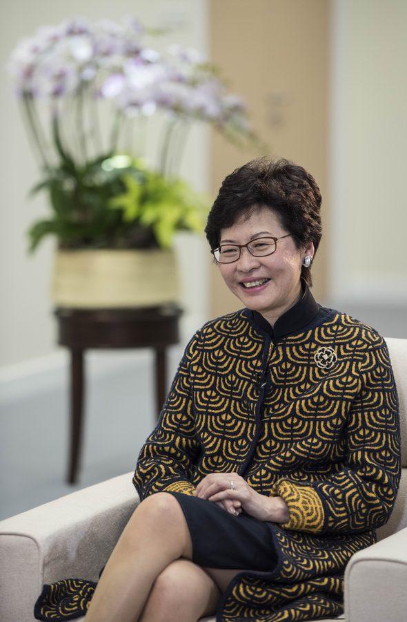 林鄭有信心讓香港内地更好携手發展
