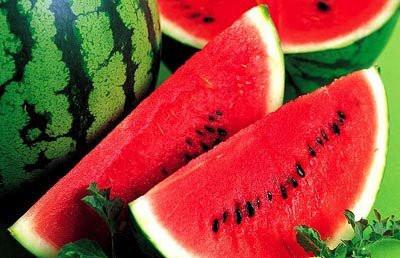 清涼夏季吃西瓜