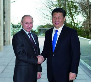 """俄羅斯是中國推動""""一帶一路""""建設的重要夥伴"""