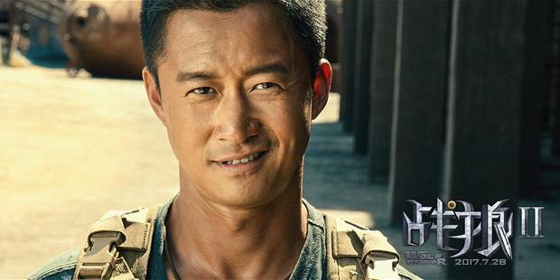 吳京《戰狼》演繹中國軍人打不倒 打不敗