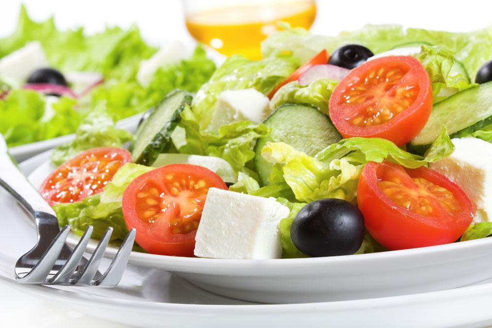 沙拉成爲時下輕飲食