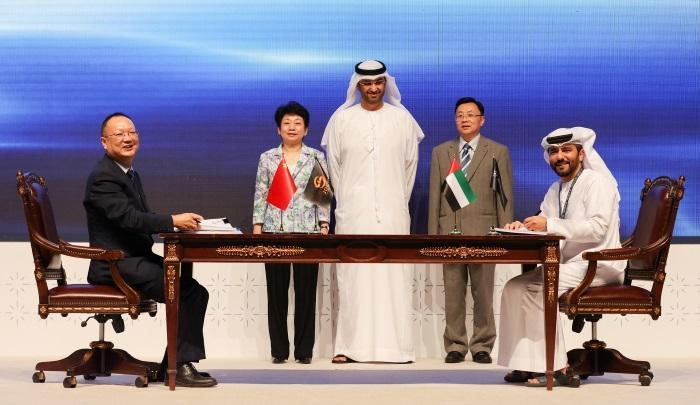 中國是阿聯酋的第二大貿易夥伴,也是阿聯酋最大的出口國