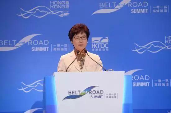 """積極推進香港在""""一帶一路""""的參與"""