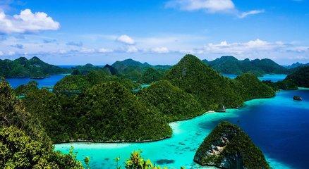 置身於群島之中,感受海天遼闊