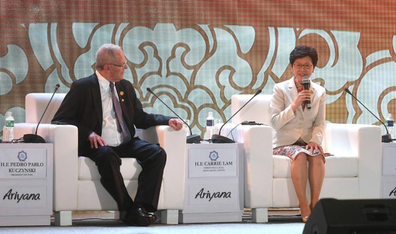勞動力與貿易帶動香港發展