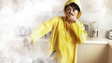 厨房油烟成女性肺癌殺手