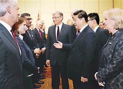 習近平:歡迎全球企業家共享中國機遇